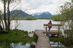 Glenorchy Lagoon Stock Photo