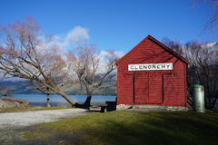 Glenorchy on Lake Wakatipu, New Zealand Royalty Free Stock Image