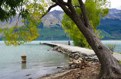 Glenorchy molo 2 - Queenstown Obraz Royalty Free