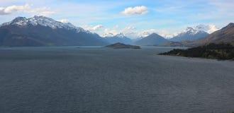 Glenorchy, Nieuw Zeeland Stock Foto