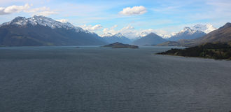 Glenorchy, Nouvelle-Zélande Photo stock