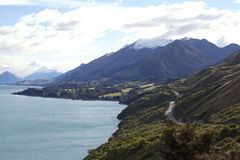 Glenorchy Nouvelle-Zélande Photos stock