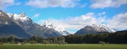 Glenorchy, Nova Zelândia Foto de Stock Royalty Free