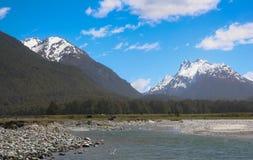 Glenorchy, Nuova Zelanda Fotografia Stock Libera da Diritti
