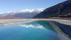Glenorchy Queenstown Obrazy Royalty Free