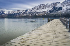 Glenorchy Wharf Royalty Free Stock Images