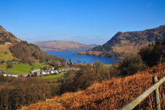 Glenridding looking over Ullswater Stock Image