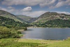 Glenridding Ullswater. Cumbria landscape scene stock photo