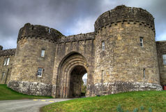 Glenstal Abbey HDR Royalty Free Stock Image