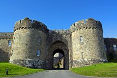 Glenstal Abbey Main Gates Royalty Free Stock Photography