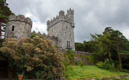 Glenveagh城堡在爱尔兰 免版税库存照片