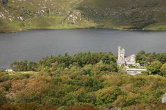 Glenveagh castle. Royalty Free Stock Photography