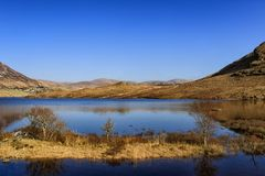 Glenveagh nationalpark, Co Donegal Irland Royaltyfri Bild