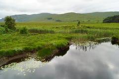 Glenveagh nationalpark royaltyfri fotografi