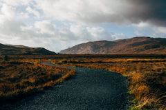 Glenveagh nationalpark i Irland Royaltyfria Bilder