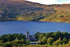 Glenveagh nationalpark royaltyfria bilder