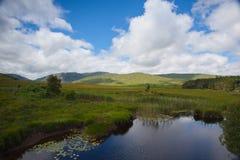 Glenveagh park narodowy, Irlandia Glenveagh jest drugi larges Obraz Royalty Free