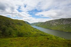 Glenveagh park narodowy, Irlandia Glenveagh jest drugi larges Zdjęcia Stock