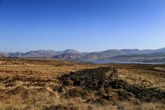 Glenveagh Parkl nacional, Co Donegal, Irlanda imagem de stock