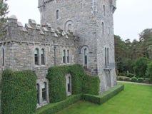 Glenveagh slott i Co Donegal Irland arkivbild