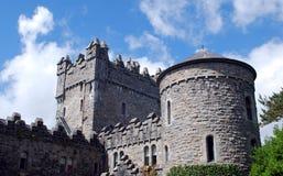 Glenveagh slott i Irland royaltyfri foto