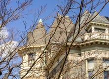 Glenview herrgård i Hudson River Museum Royaltyfri Fotografi