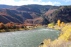 Glenwood峡谷 免版税库存图片