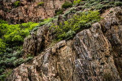 Glenwood Canyon in Colorado Stock Photo