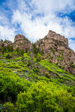 Glenwood Canyon in Colorado Royalty Free Stock Image