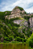 Glenwood Canyon in Colorado Royalty Free Stock Photo