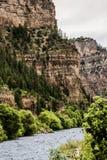 Glenwood Canyon in Colorado Royalty Free Stock Photo