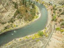 Glenwood Canyon - Colorado Royalty Free Stock Photos