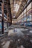 Glenwood elektrownia - Yonkers, Nowy Jork Zdjęcie Royalty Free