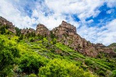 Glenwood kanjon i Colorado royaltyfria bilder
