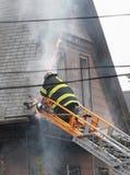 glenwood rd somerville пожара Стоковые Изображения