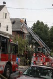 Glenwood rd somerville fire Stock Photography