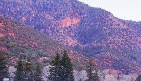 Glenwood Springs imagen de archivo libre de regalías