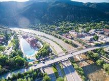 Glenwood Springs Image stock