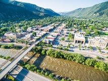 Glenwood Springs Stock Image
