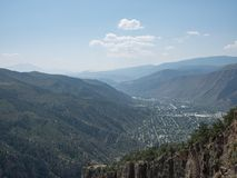 Glenwood Springs. A shot of Glenwood Springs, Colorado Royalty Free Stock Images