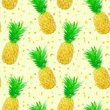 Gles låg poly ananasmodell Royaltyfri Foto