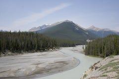 Gletscher-Abfluss Lizenzfreies Stockbild