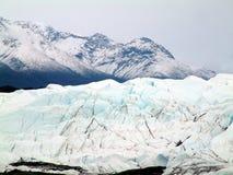 Gletscher in Alaska lizenzfreies stockbild