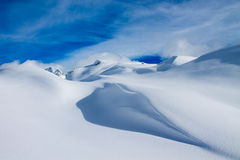 Gletscher Aletsch Gletscher/Aletsch Lizenzfreies Stockfoto