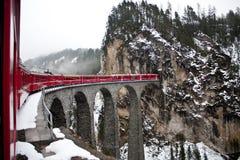 Gletscher ausdrücklich, die Schweiz Lizenzfreie Stockfotos