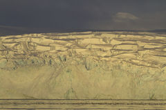 Gletscher der antarktischen Halbinsel in der Einstellung Lizenzfreie Stockfotografie