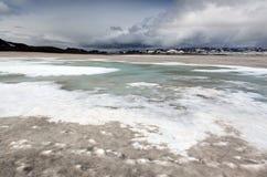 Gletscher in der Askja-Region lizenzfreie stockfotos