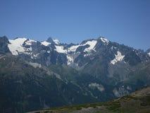 Gletscher-DES Agneaux in den Hautes-Alpes Frankreich stockfotos
