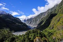 Gletscher Franz Josef Lizenzfreies Stockfoto