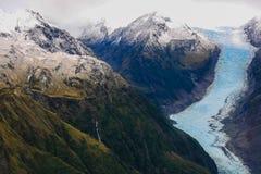 Gletscher Franz-Josef, Neuseeland Stockfotos